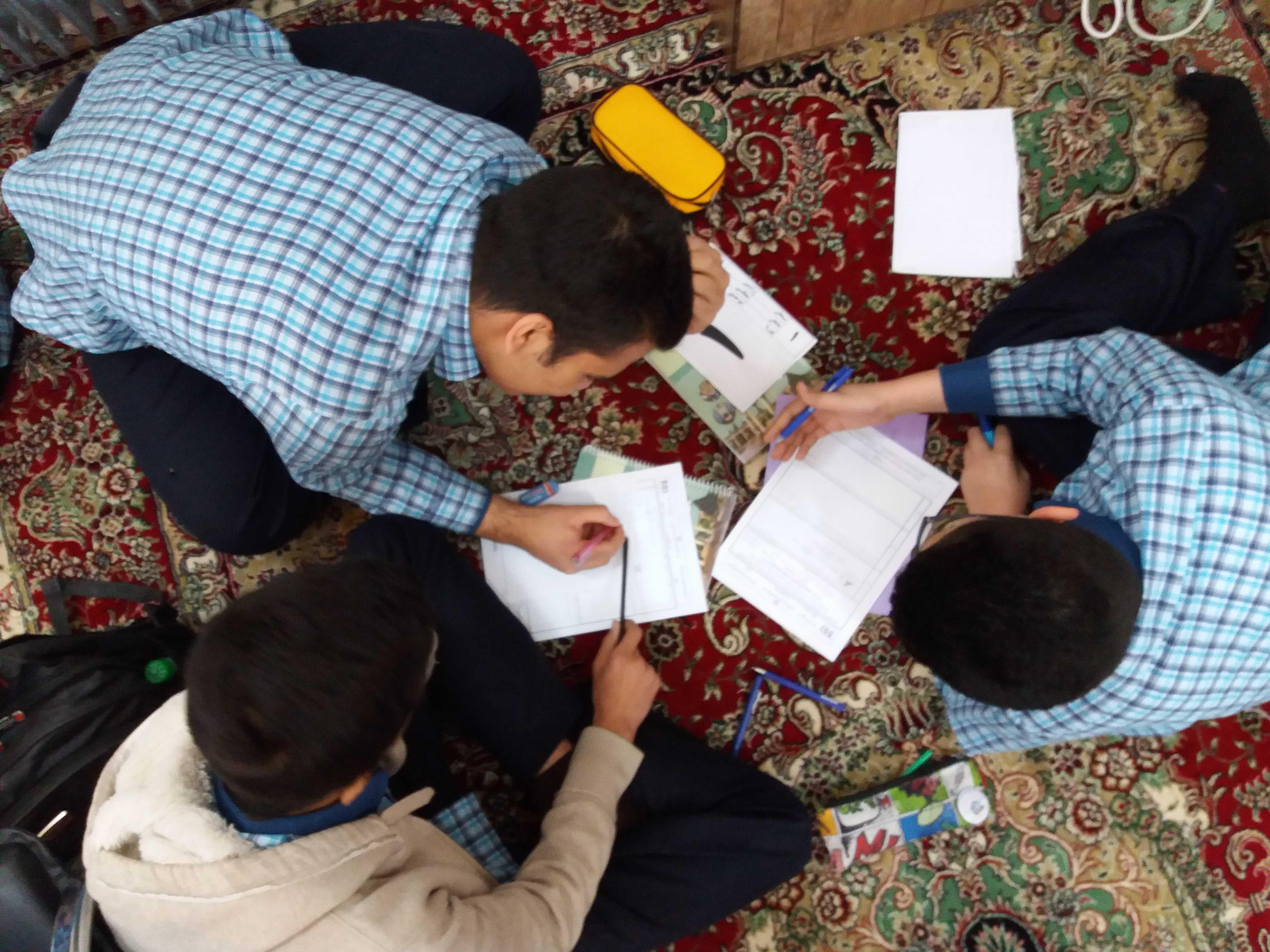 برگزاری آزمون تورنی تیم ریاضی
