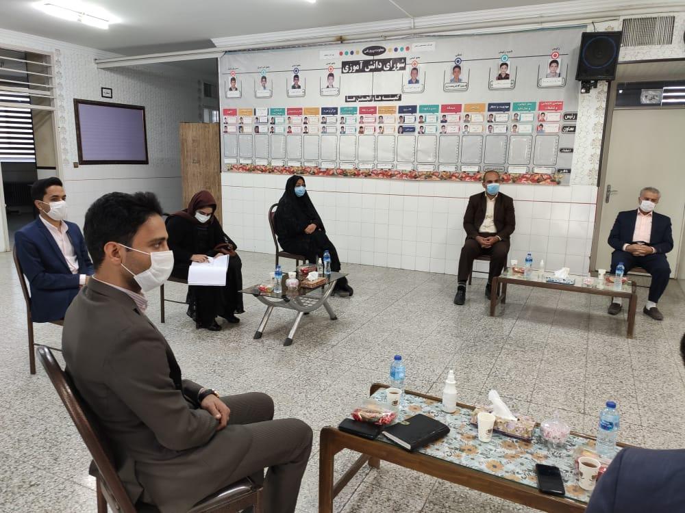 سومین جلسه انجمن اولیا و مربیان